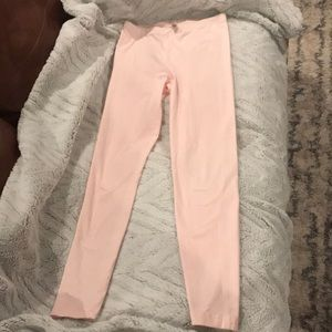 Pink leggings size M from American Apparel